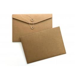 Kuvert mit Wickelverschluß