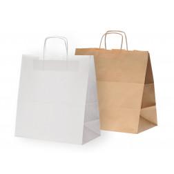 Papierkordeltasche - Take-away