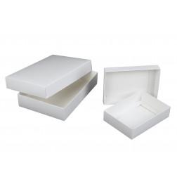 Stülpdeckelkartonage - weiß